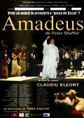 Afis spectacol Amadeus